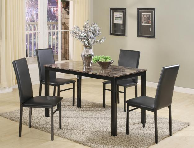 1217 Aiden 5pc Dining Set