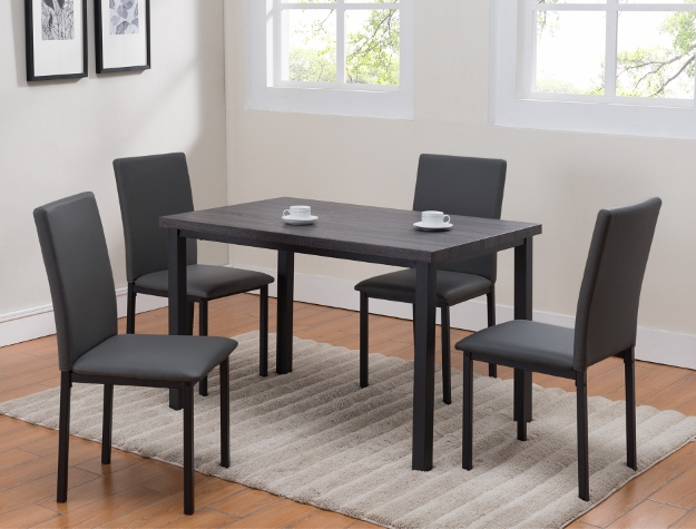1272 Orlo -5pc Dining Set