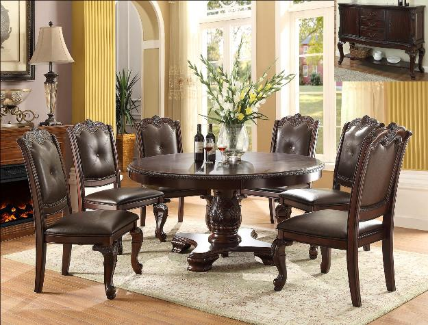 2150 Kiera Round Dining Set