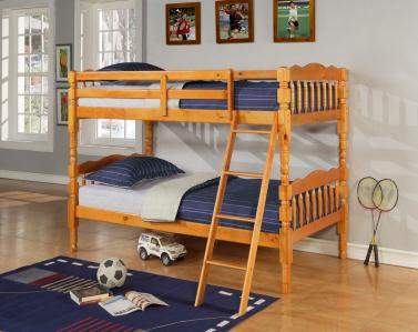 8132 OAK Bunk Bed Twin/Twin