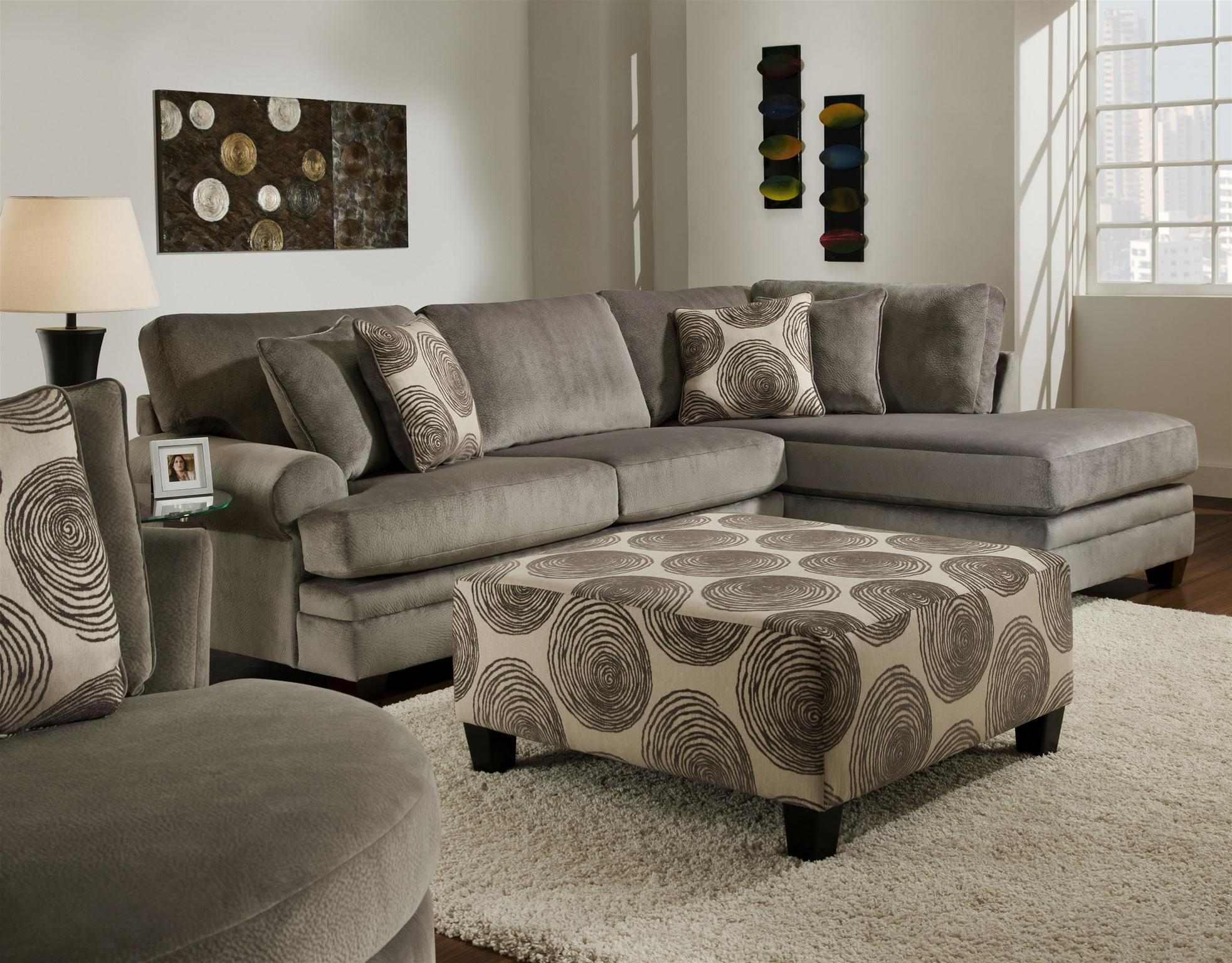 8642 Smoke - Sectional Only