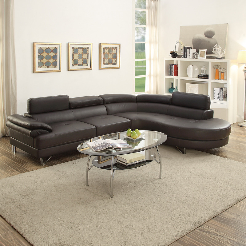 Exceptionnel F6969 EXPRESSO SECTIONAL