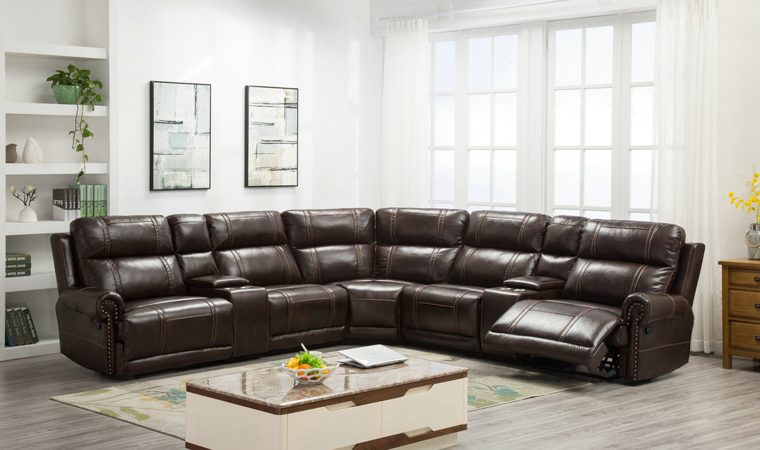 HH227 – Sectional Recliner | Smartway Furniture – Houston, Texas