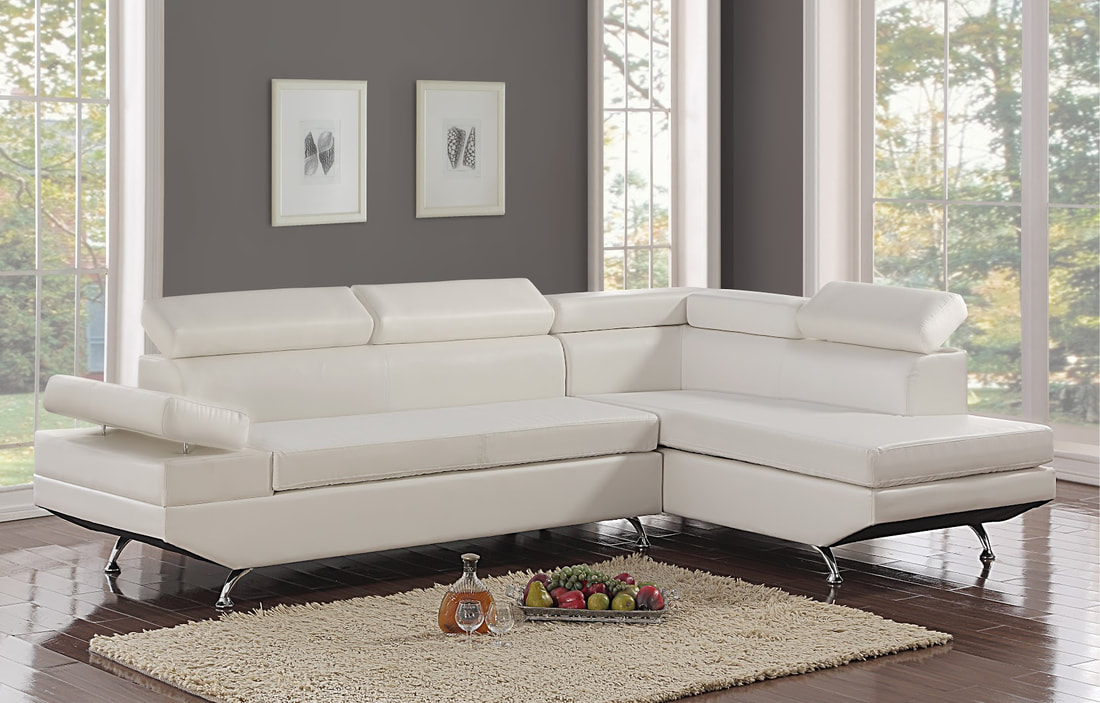 Moderno White - Sectional