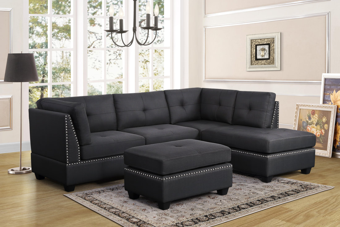 Sienna Gray Linen - Sectional