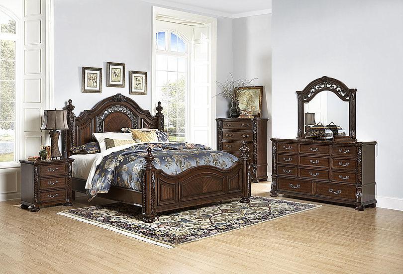 B5870 Monte Carlo 5PC Bedroom Set   Smartway Furniture – Houston, Texas