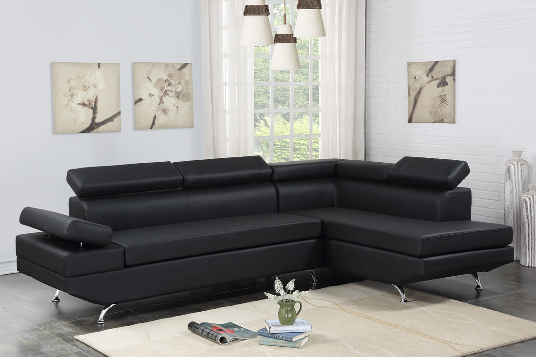Moderno Black - Sectional