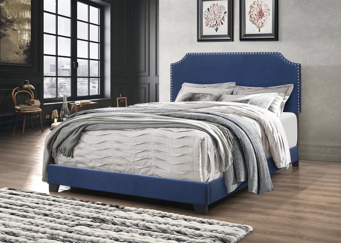 HH550BLUE BED