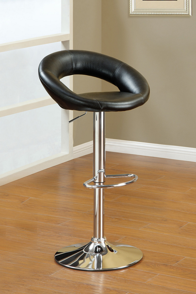 F1553 Black Bar Stool