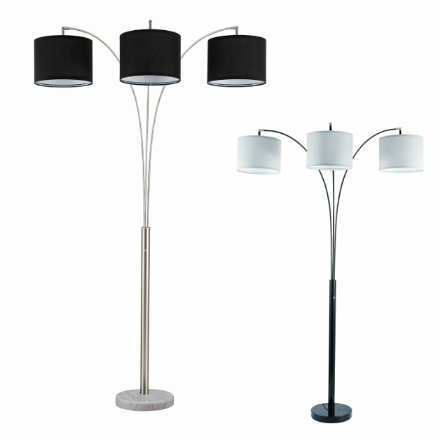 6249-ALL 3 ARM FLOOR LAMP, DR